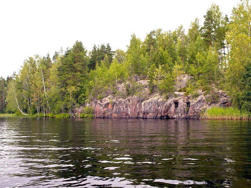 озеро бурное выборгский район рыбалка