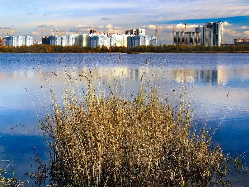 Рыбная ловля в Лахтинском разливе на севере Петербурга Рыбалка в черте Санкт-Петербурга места: озера пруды и реки