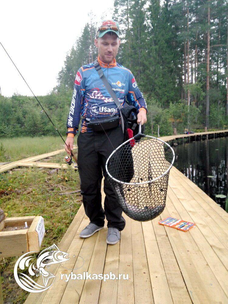 рыбалка на водоемах в спб