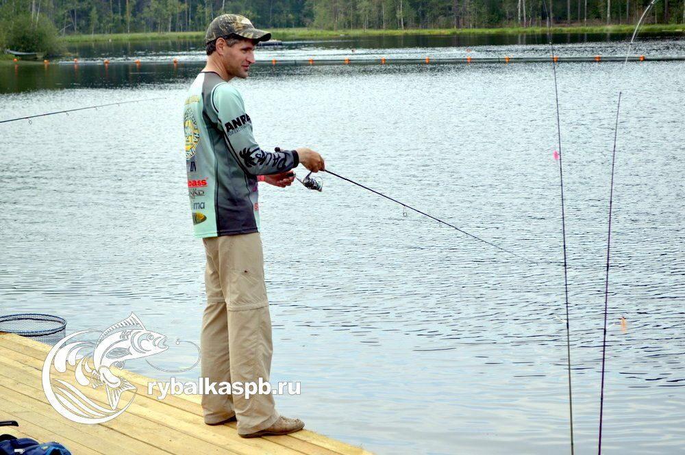 бесплатная рыбалка на арендованных водоемах