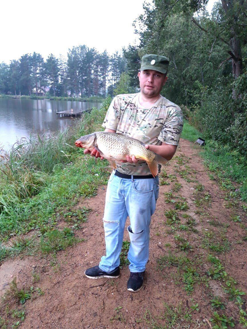 Ловля на реке коваши