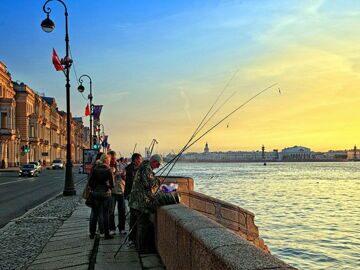 Где ловить рыбу на Неве лучше
