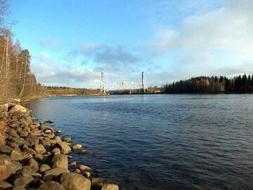 Рыбалка на реке Свирь Ленинградская область