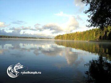 Озеро Зеркальное рыбалка